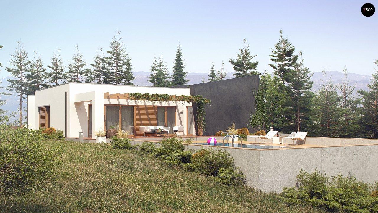 Одноэтажный дом исключительного современного дизайна. - фото 7