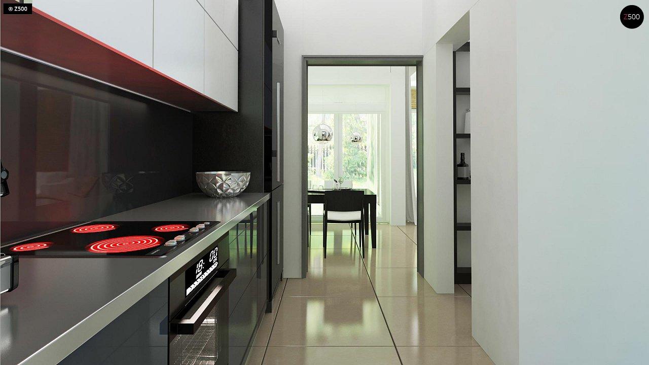 Комфортный дом привлекательного дизайна с дополнительной комнатой над гаражом. 9