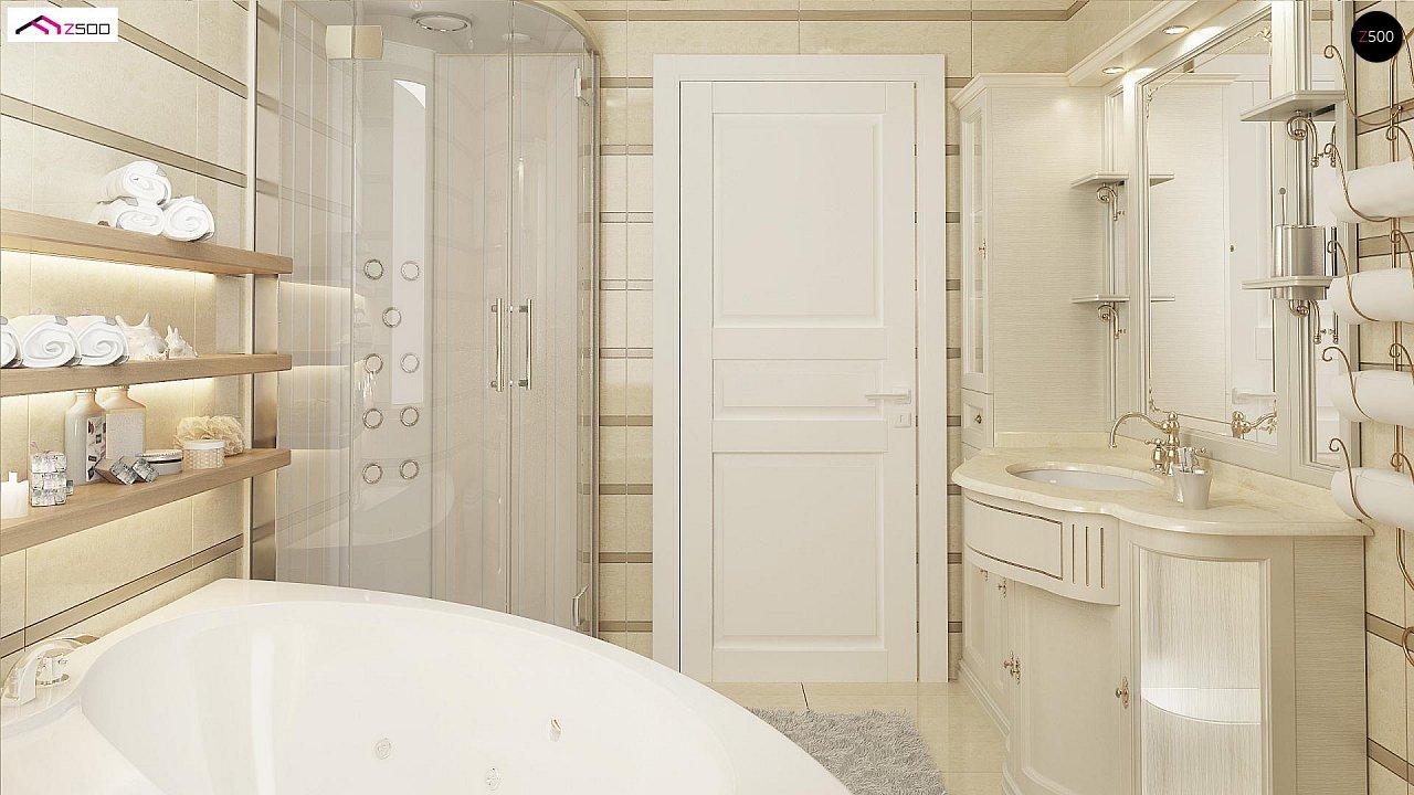 Зеркальный вариант увеличенного дома Z2 - фото 11