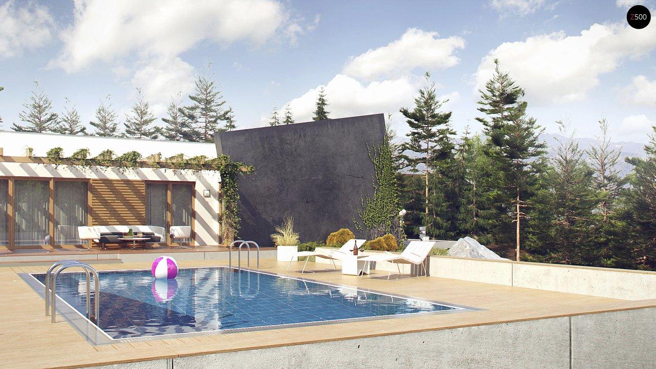 Одноэтажный дом исключительного современного дизайна. 2