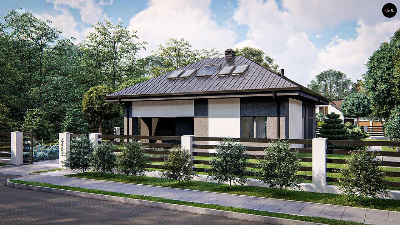 Двухэтажный дом с мансардой 2