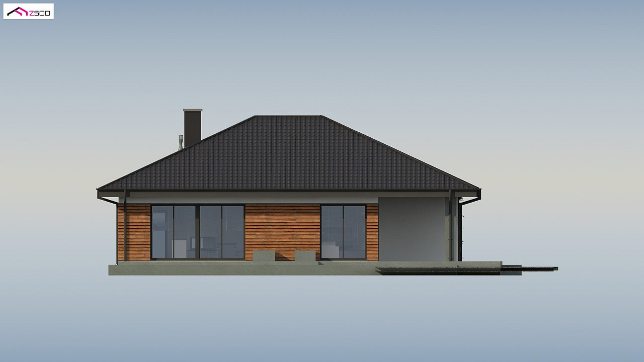 Проект комфортного и функционального одноэтажного дома. - фото 13