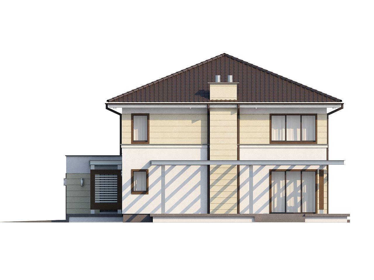 Комфортный двухэтажный дом со вторым светом над гостиной. - фото 6