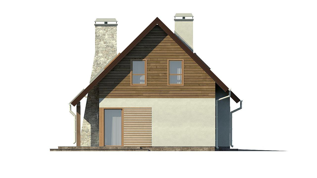 Версия проекта Z79 с гаражом с правой стороны. 24