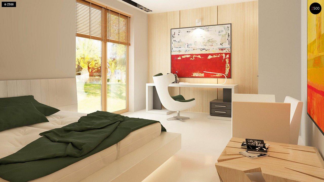 Прекрасное сочетание строгих минималистичных форм и уютного практичного интерьера. 18