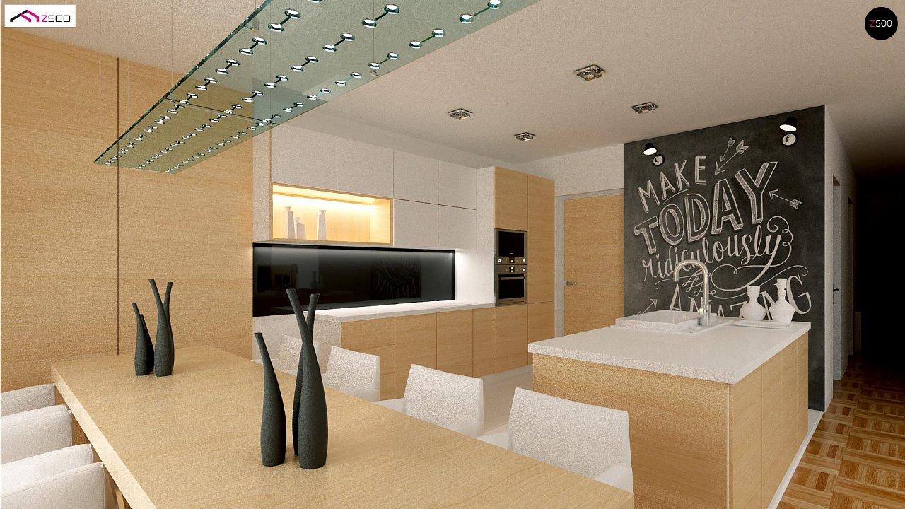 Красивый одноэтажный дом с удобной планировкой 9