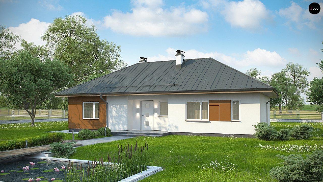 Комфортный одноэтажный дом в традиционном стиле. 1