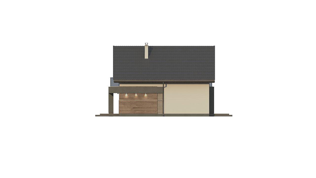 Компактный и удобный дом традиционной формы, подходящий, также, для узкого участка. 16