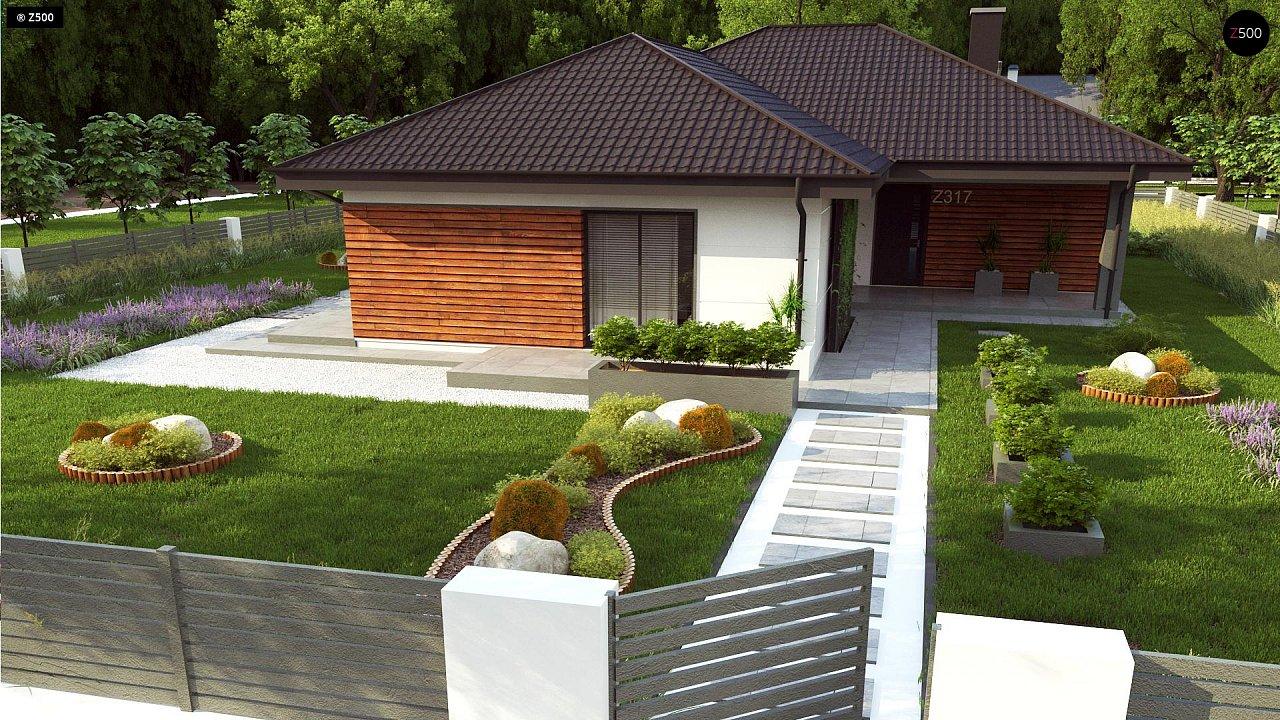Проект комфортного и функционального одноэтажного дома. - фото 5
