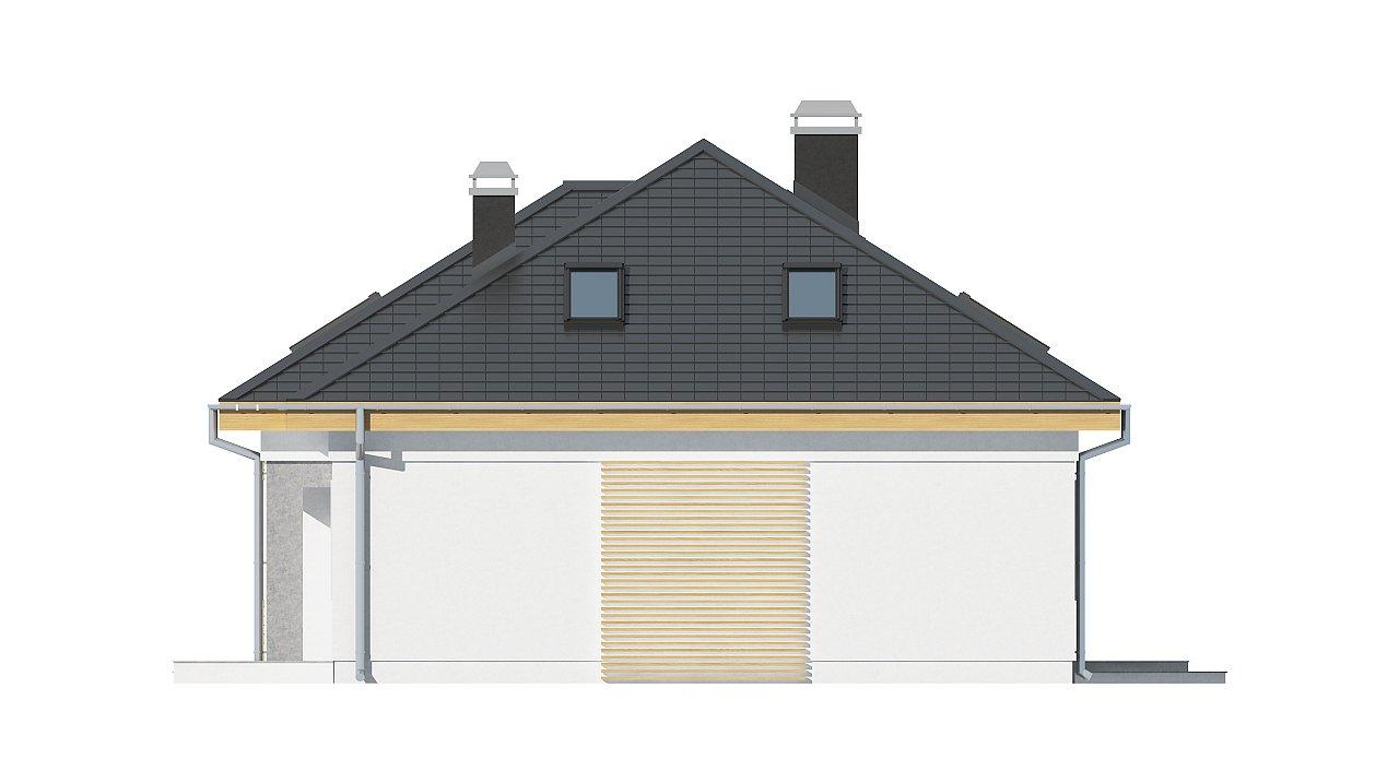 Удобный функциональный дом с двумя дополнительными комнатами на первом этаже. - фото 5