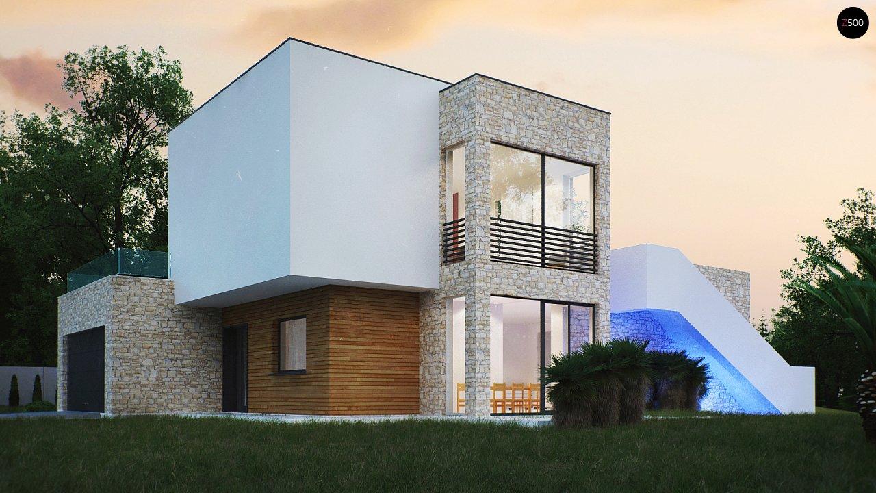 Трехэтажная современная резиденция с террасами и бассейном . 3