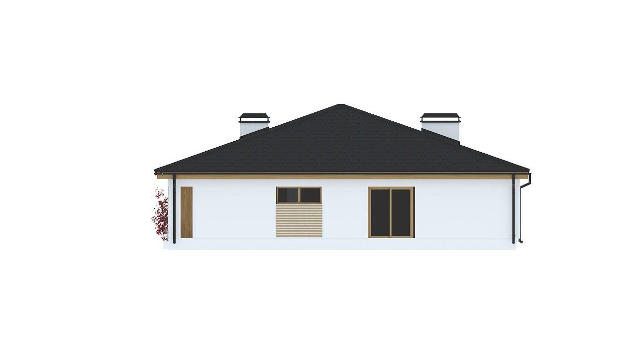Практичный одноэтажный дом с четырьмя спальнями и гаражом. 23