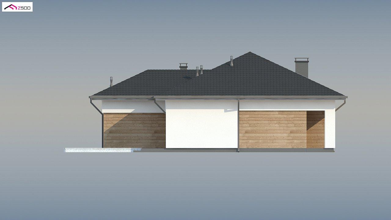 Проект комфортного одноэтажного дома в европейском стиле. 8