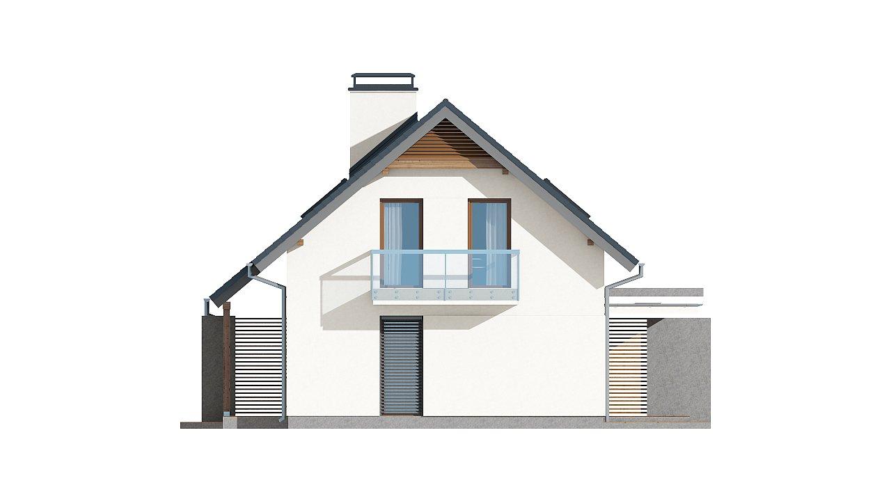 Простой и функциональный двухсемейный дом с отдельными входами. - фото 15
