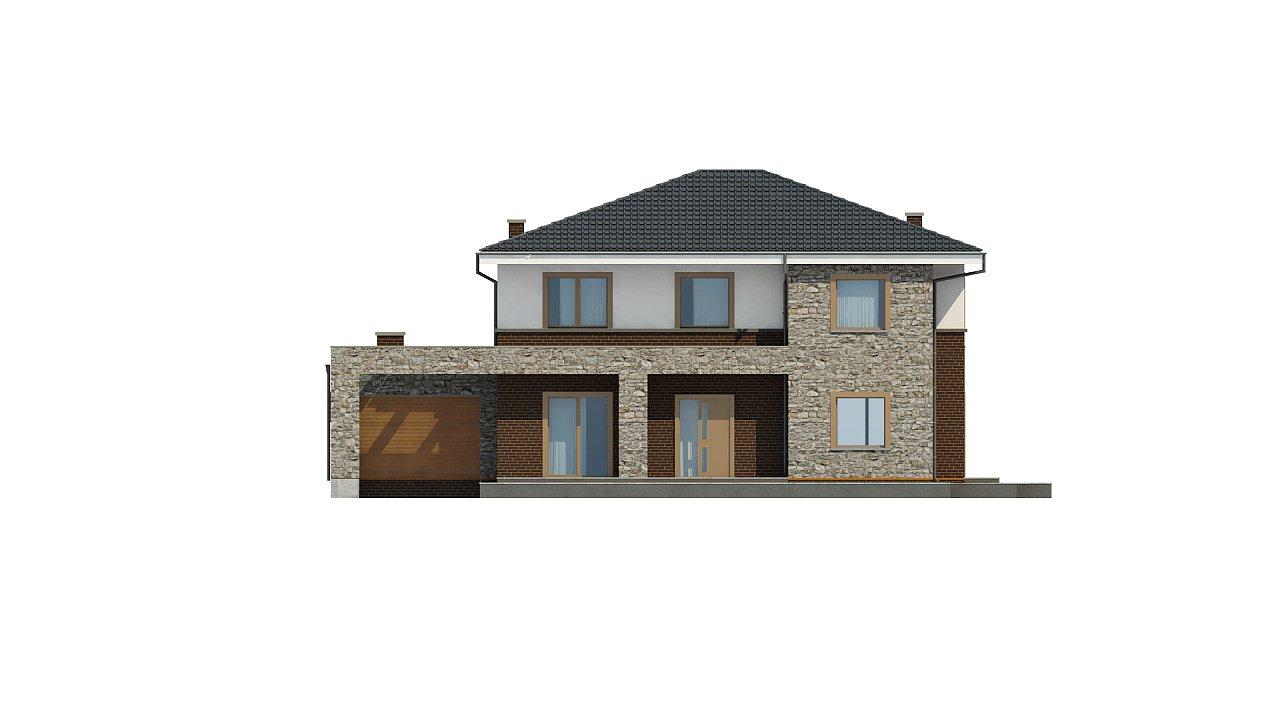 Проект дома с сауной в традиционном стиле - фото 9