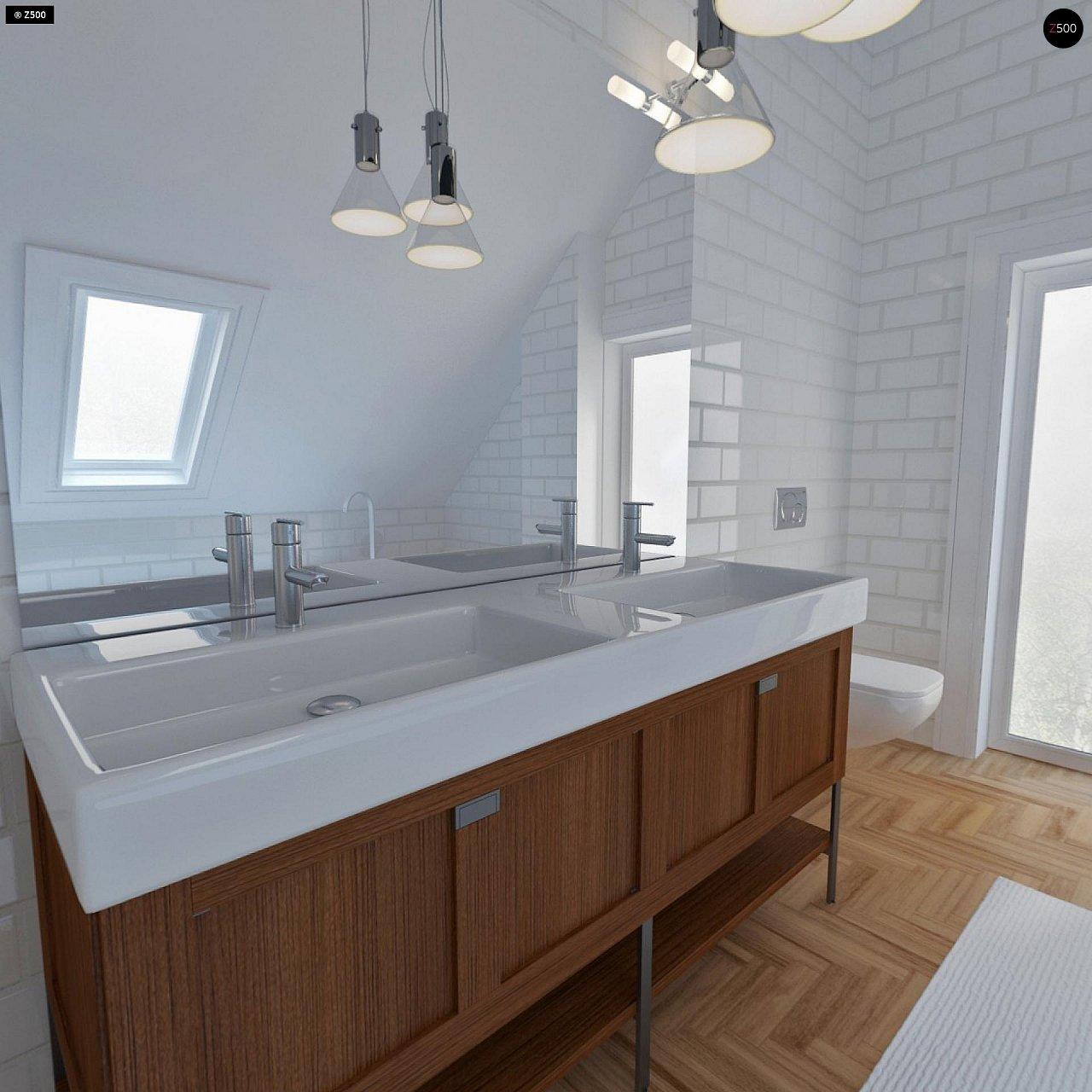 Удобный и красивый дом с красивым окном во фронтоне. 20