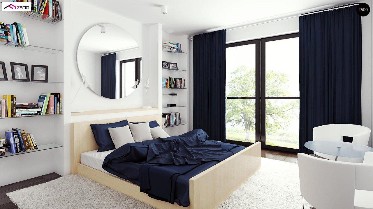 Просторный и комфортный двухэтажный дом с большими окнами. 8