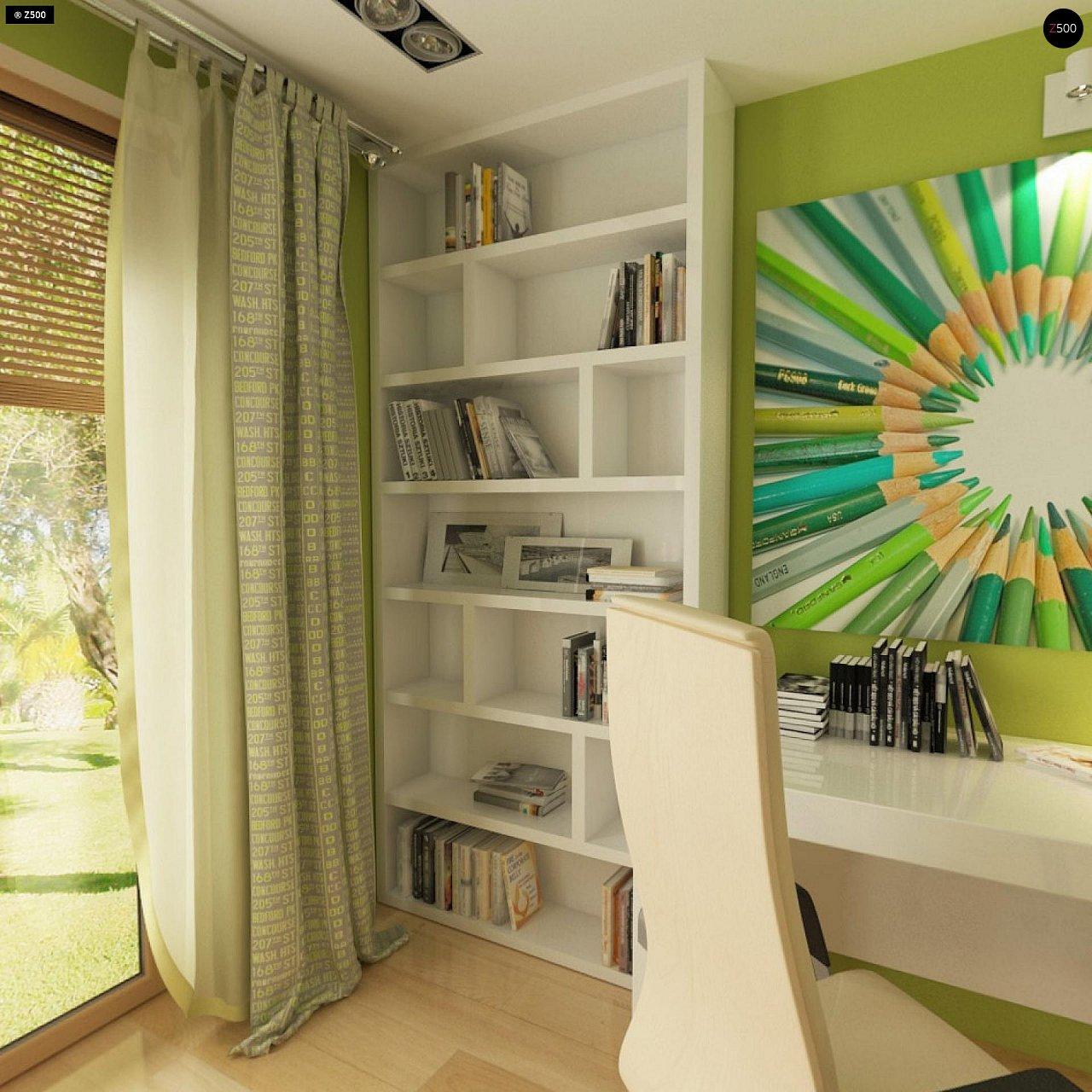 Прекрасное сочетание строгих минималистичных форм и уютного практичного интерьера. 12