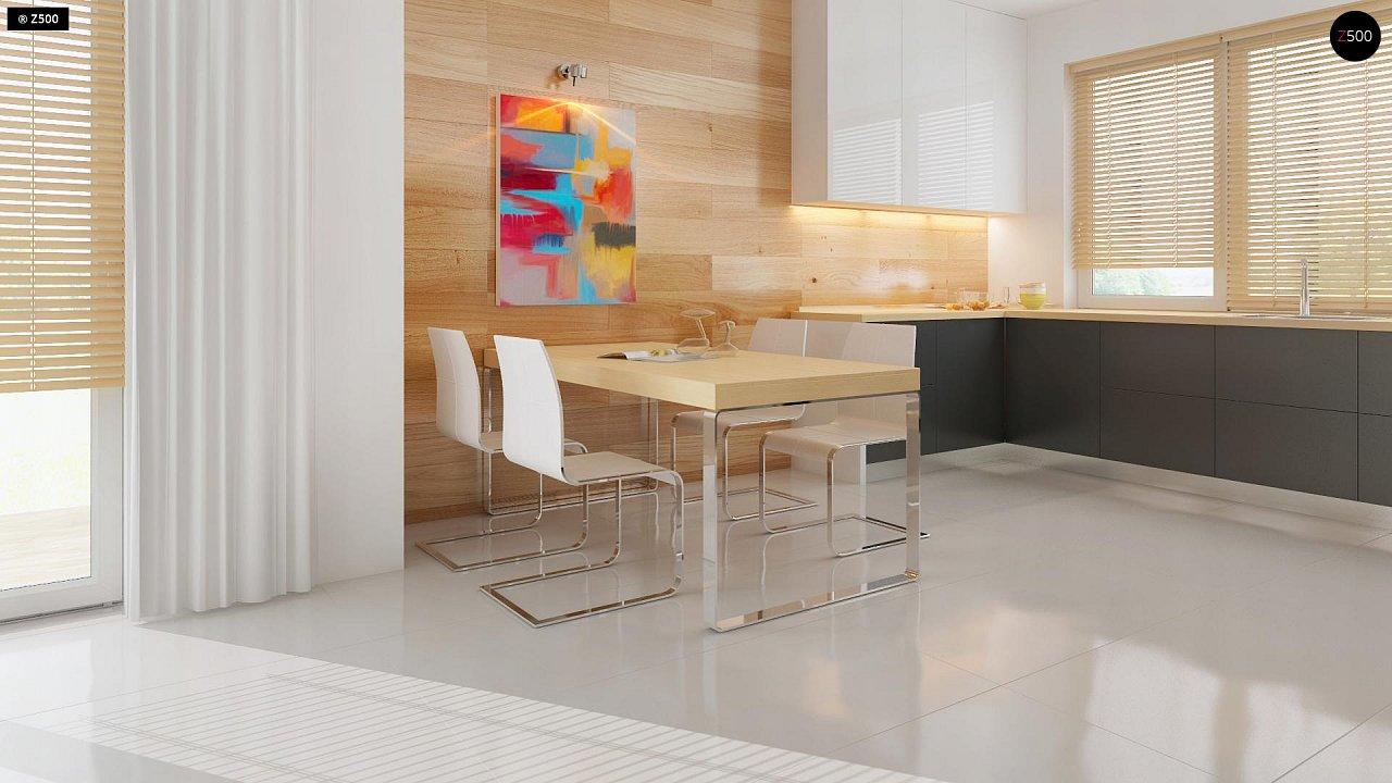 Добротный особняк модернистского характера с большой площадью остекления. 8