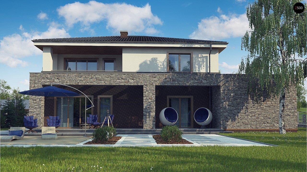Проект дома с сауной в традиционном стиле - фото 6