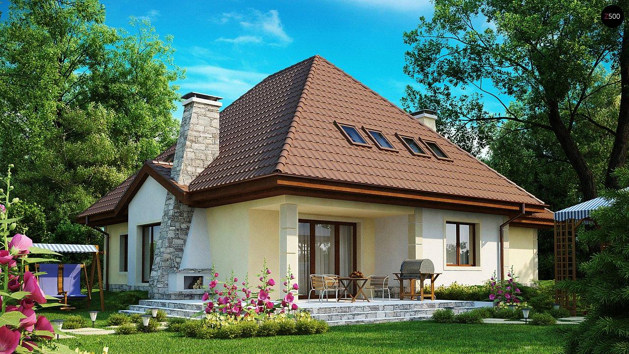 Просторный функциональный дом сложной формы. - фото 2