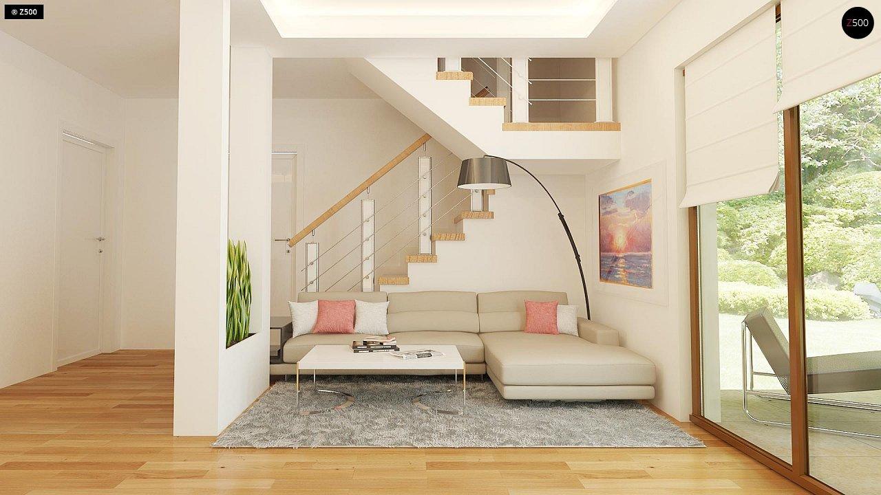 Компактный односемейный дом с дополнительной спальней на первом этаже. 4