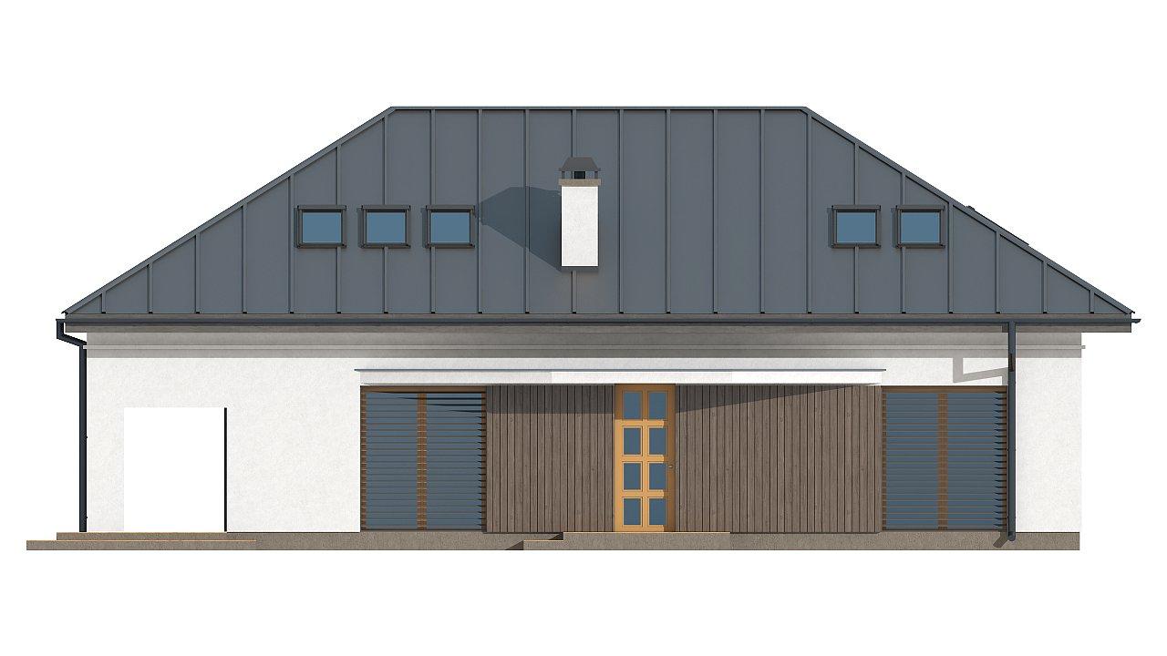 Версия проекта Z85 с современным оформлением фасадов. 5