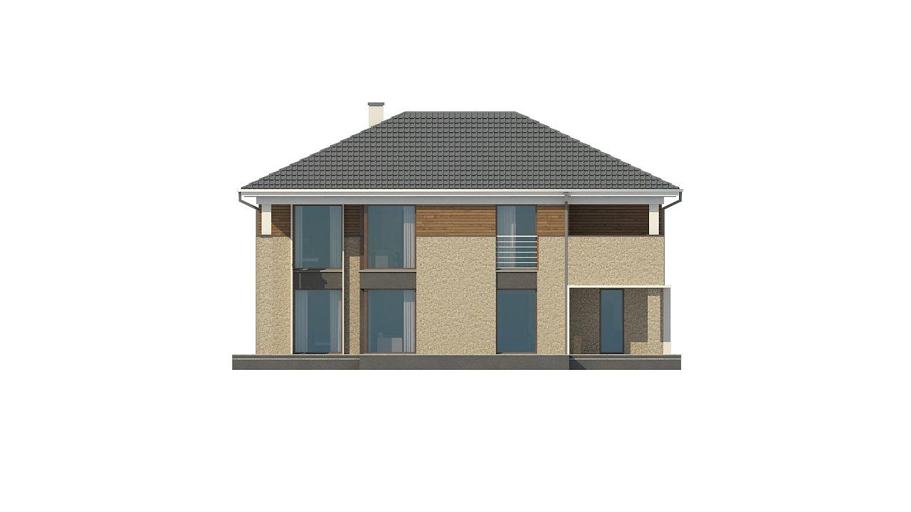 Комфортная двухэтажная усадьба с гаражом на 2 авто, с сауной на 1 этаже 12