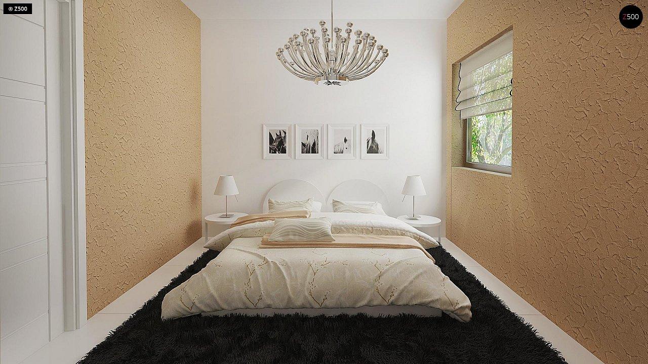 Маленький одноэтажный дом, оснащенный всем необходимым для круглогодичного проживания. 9