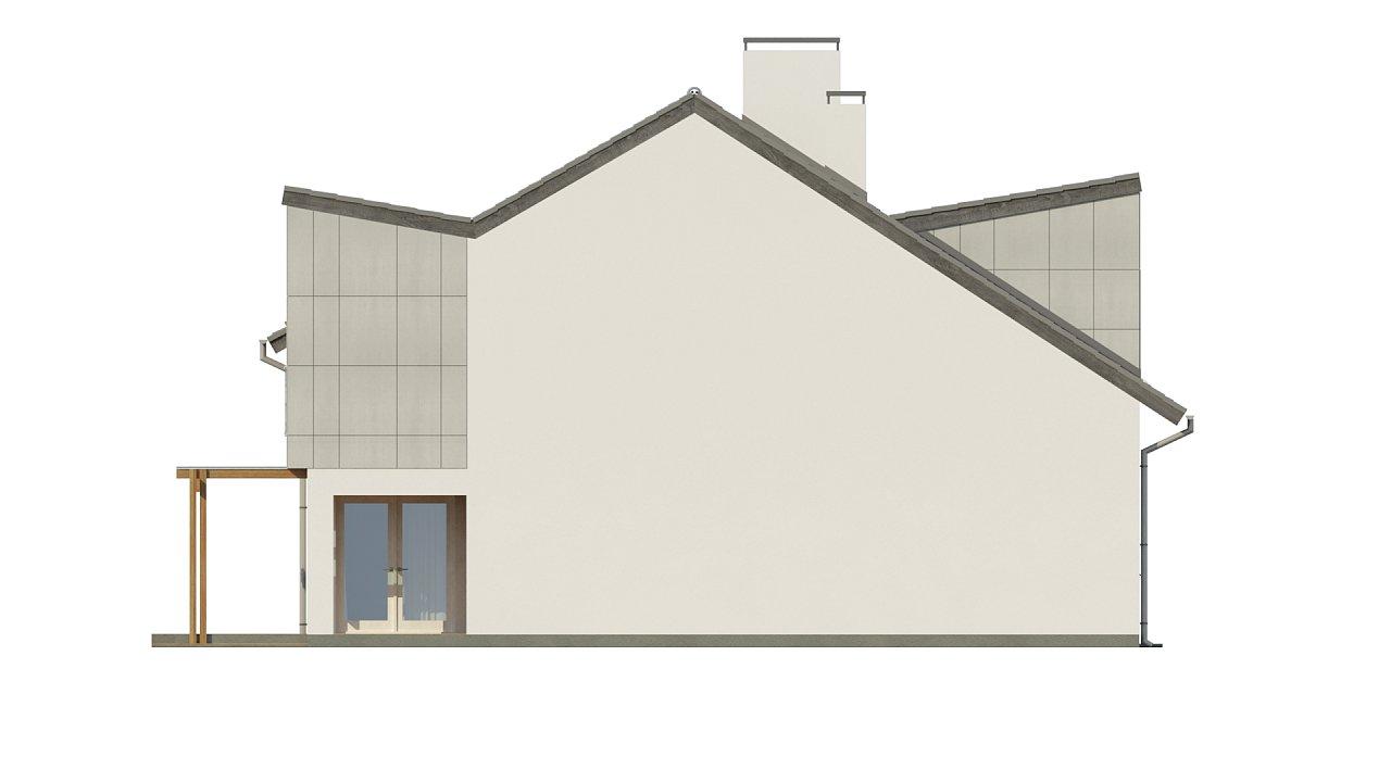 Компактные дома близнецы в современном стиле с уютным интерьером. 15