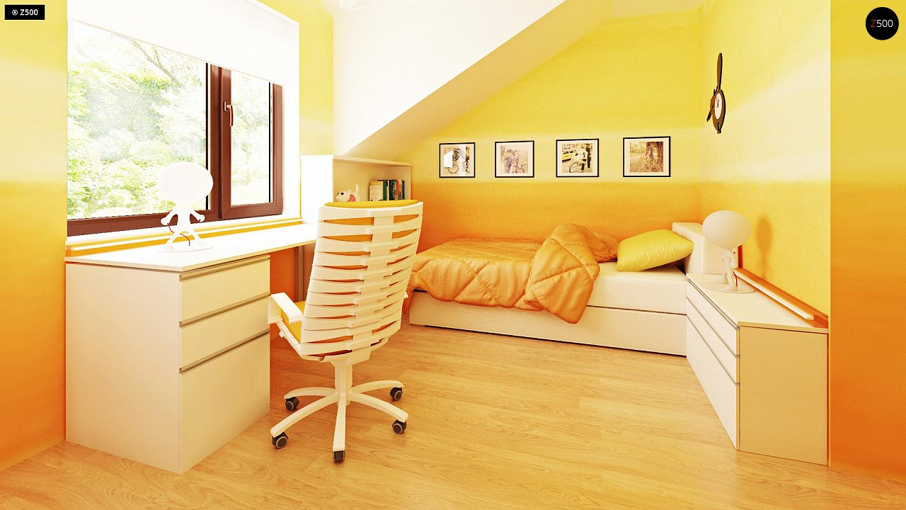 Компактные дома близнецы в современном стиле с уютным интерьером. 8