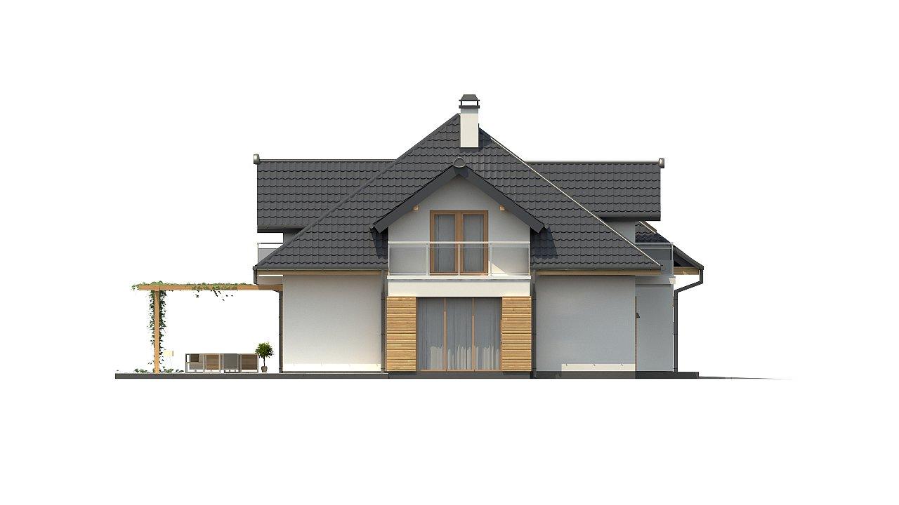 Версия проекта Z270 с альтернативной планировкой мансардного этажа. 20