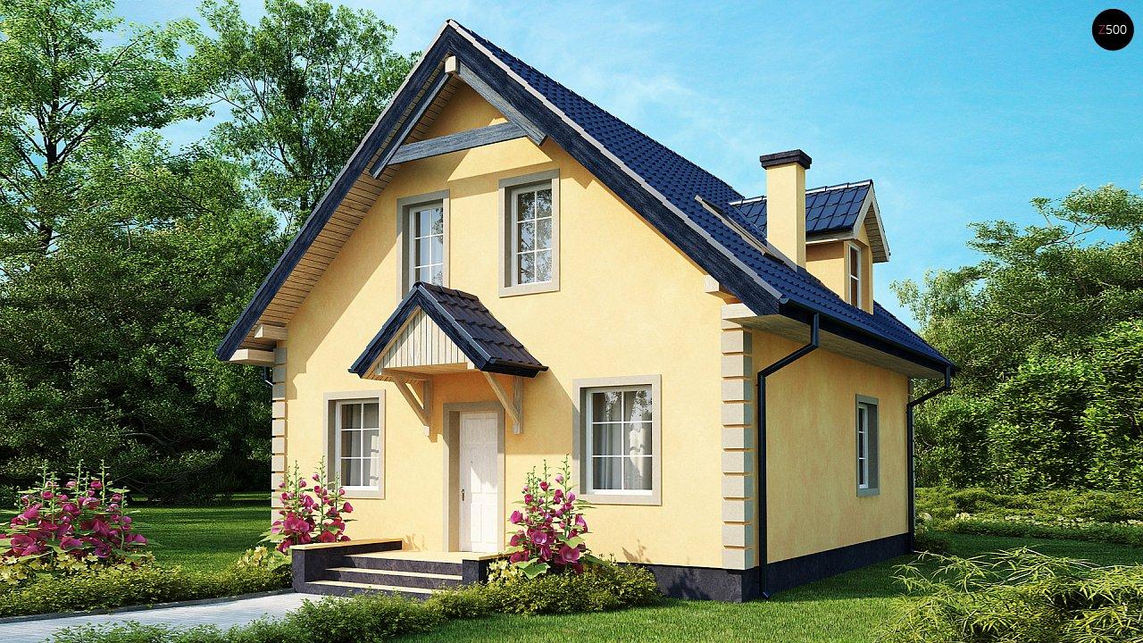 Очаровательный и практичный дом с мансардой в традиционном стиле. - фото 2