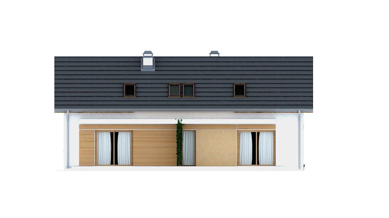 Функциональный удобный двухквартирный дом с отдельными входами в каждую из них. 4