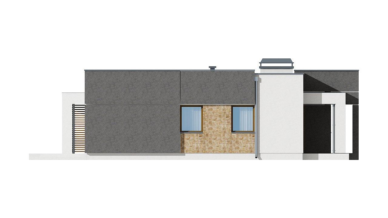 Небольшой дом из газобетона в стиле хай-тек — элегантный, практичный и экономичный. - фото 24