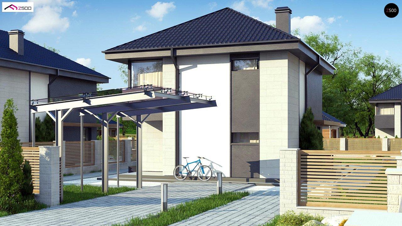 Современный двухэтажный дом с практичной планировкой 1