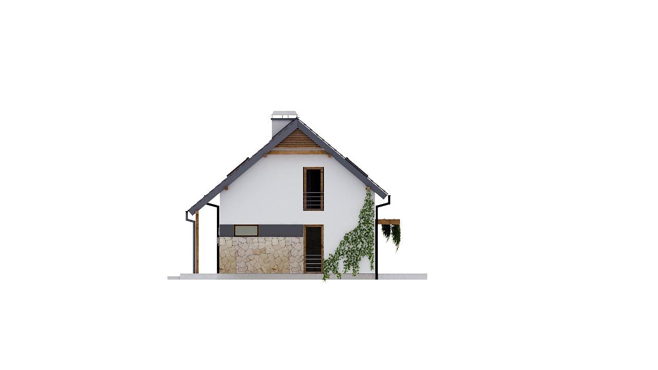 Практичный аккуратный дом с мансардой, с удобной функциональной планировкой. 24