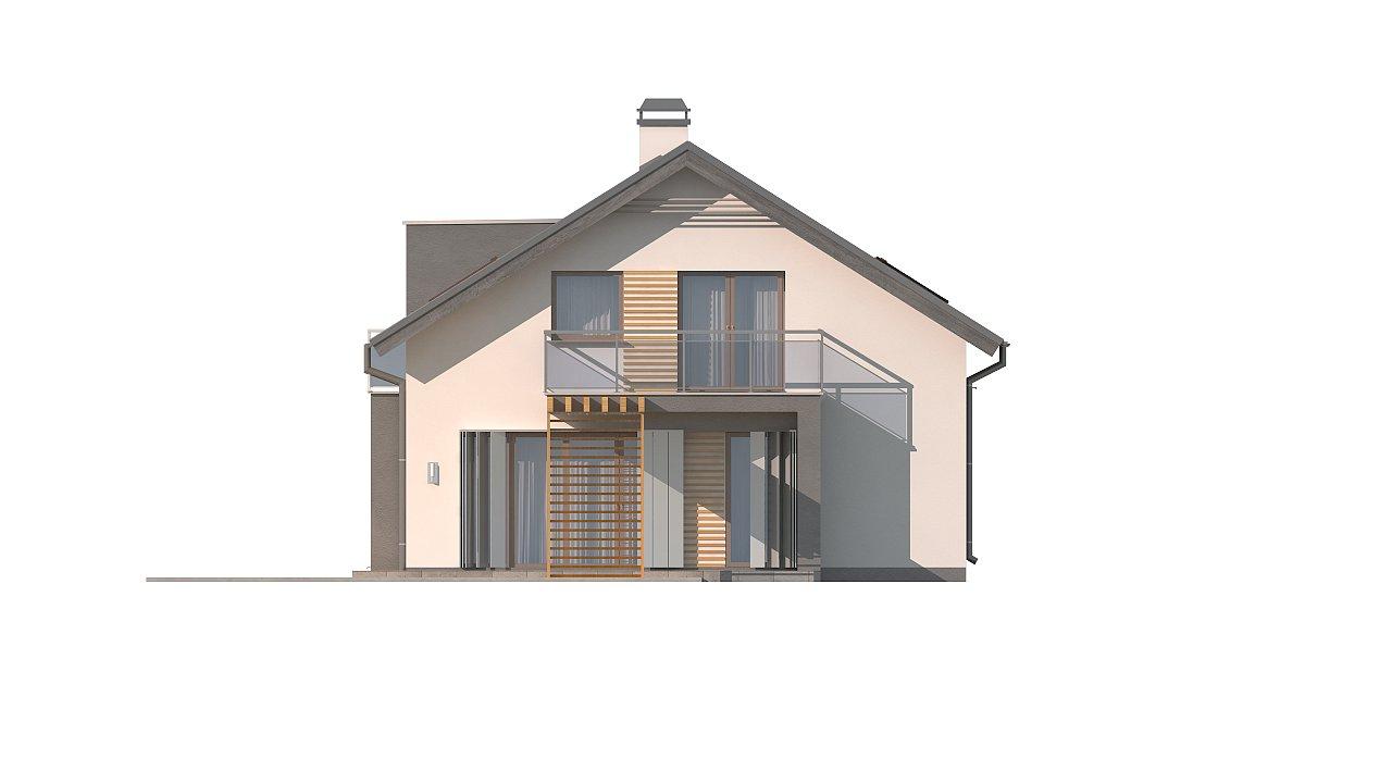 Дом традиционной формы с современными элементами в архитектуре. Уютный и функциональный интерьер. - фото 16