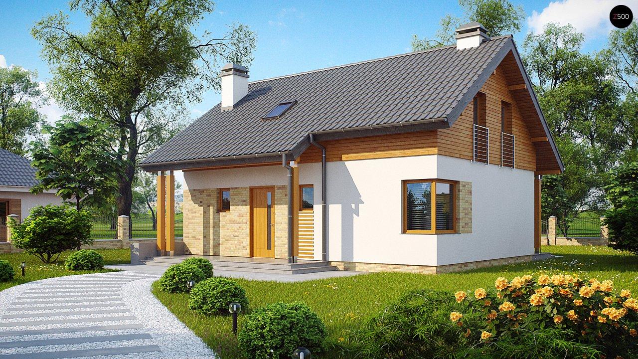 Компактный односемейный дом с дополнительной спальней на первом этаже. 1