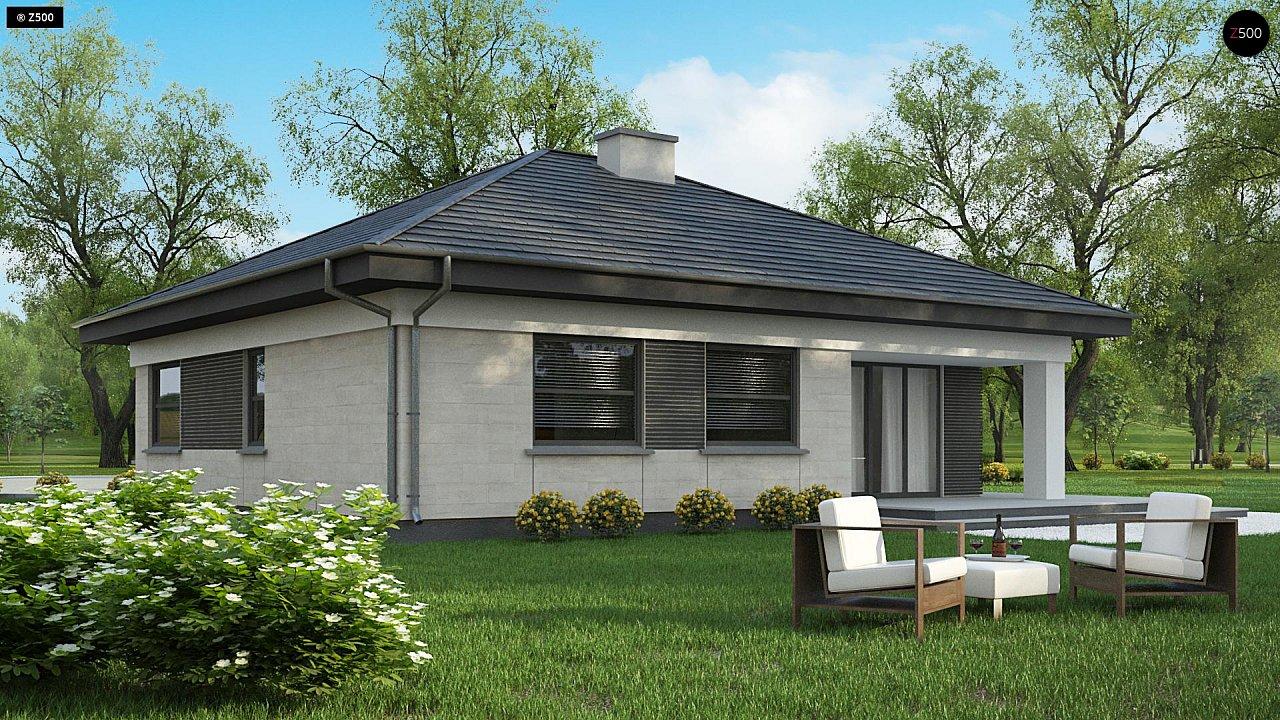 Проект компактного и функционального одноэтажного дома 5