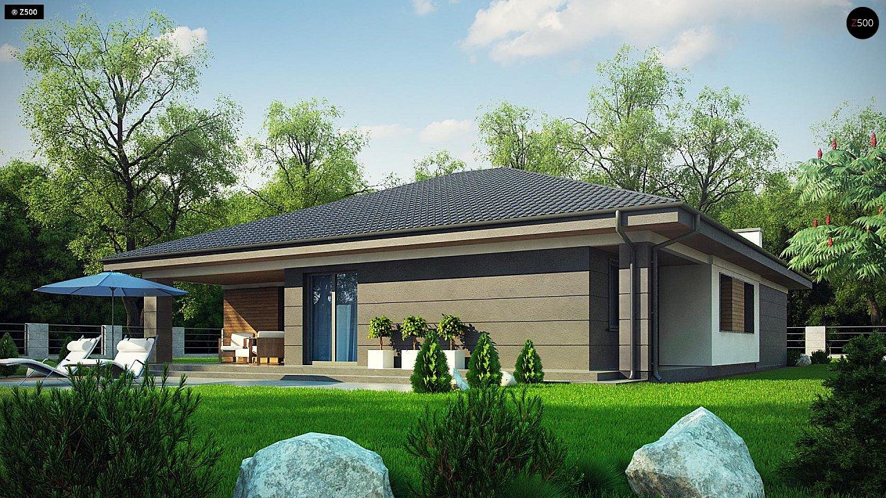 Проект стильного одноэтажного дома с функциональной планировкой - фото 5