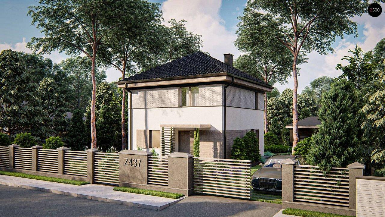Функциональный двухэтажный дом 1