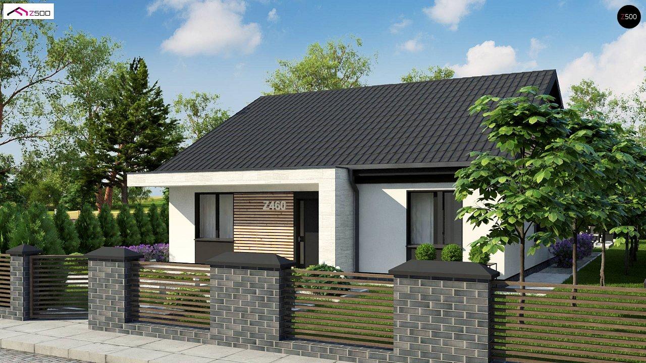 Проект дома с современным дизайном и одноуровневым функциональным интерьером. - фото 2