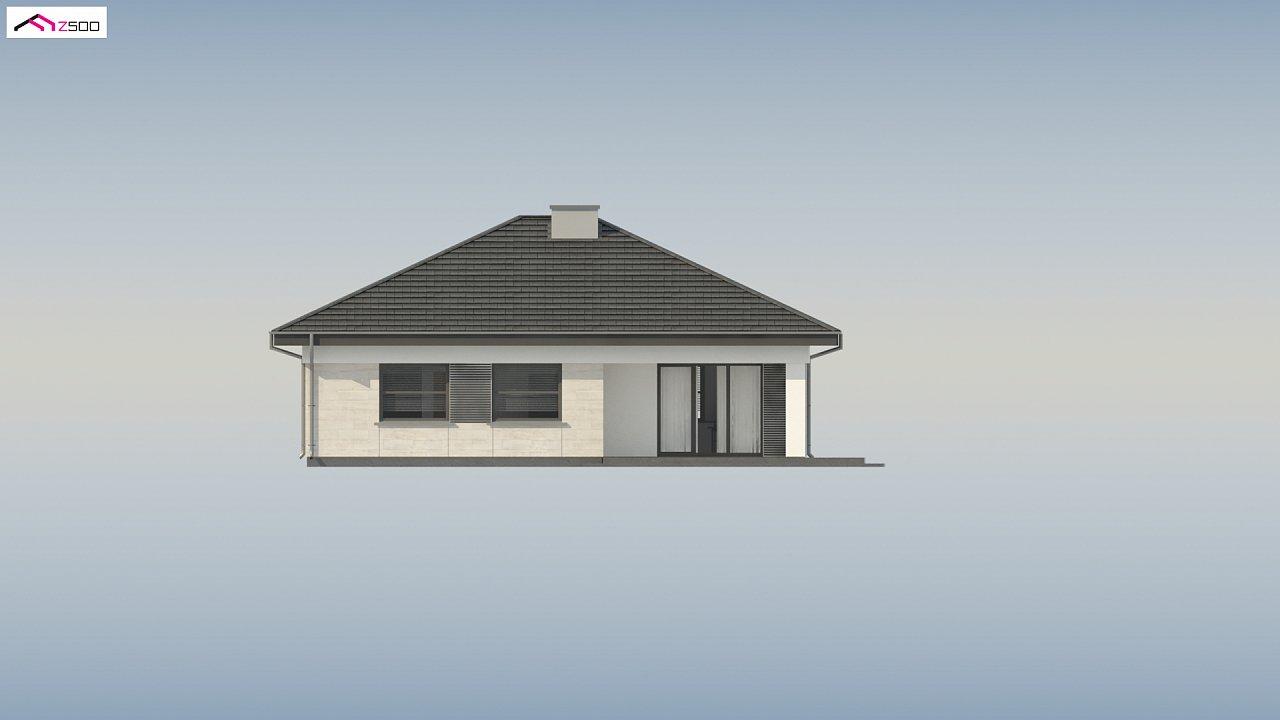 Проект компактного и функционального одноэтажного дома 19