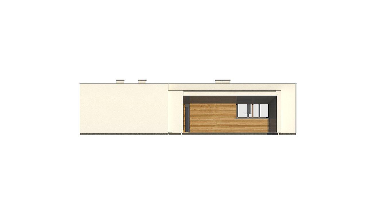 Современный плоскокровельный дом с компактной и удобной планировкой 5