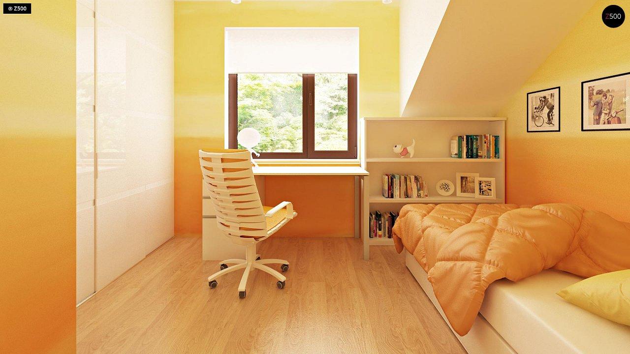Компактные дома близнецы в современном стиле с уютным интерьером. 7