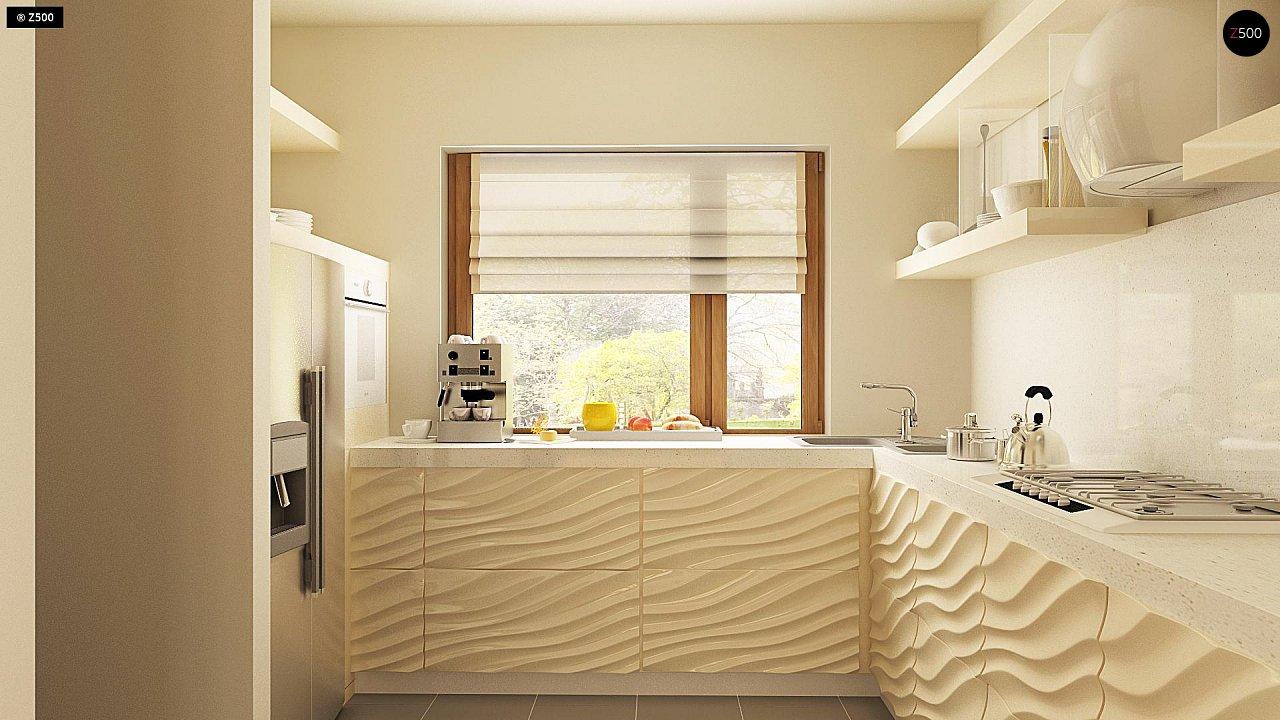 Версия проекта Z270 с альтернативной планировкой мансардного этажа. 13