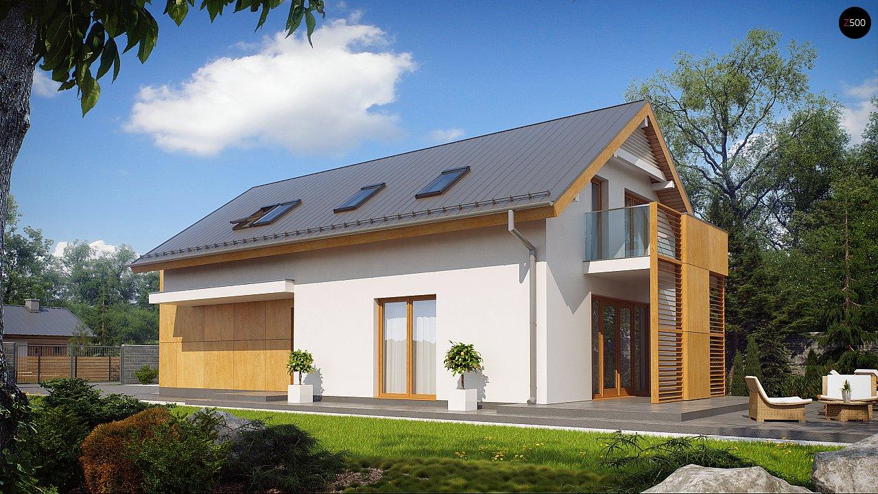Практичный и уютный дом, идеально подходящий для вытянутого участка. 2