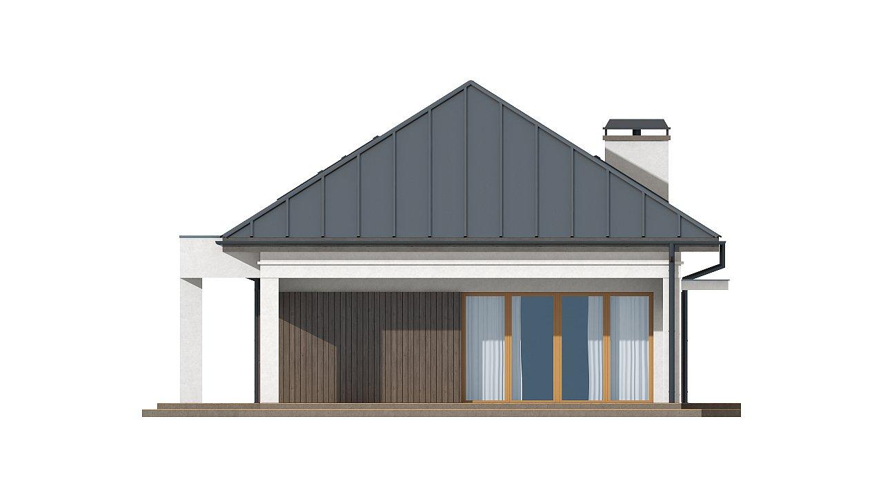 Версия проекта Z85 с современным оформлением фасадов. 4
