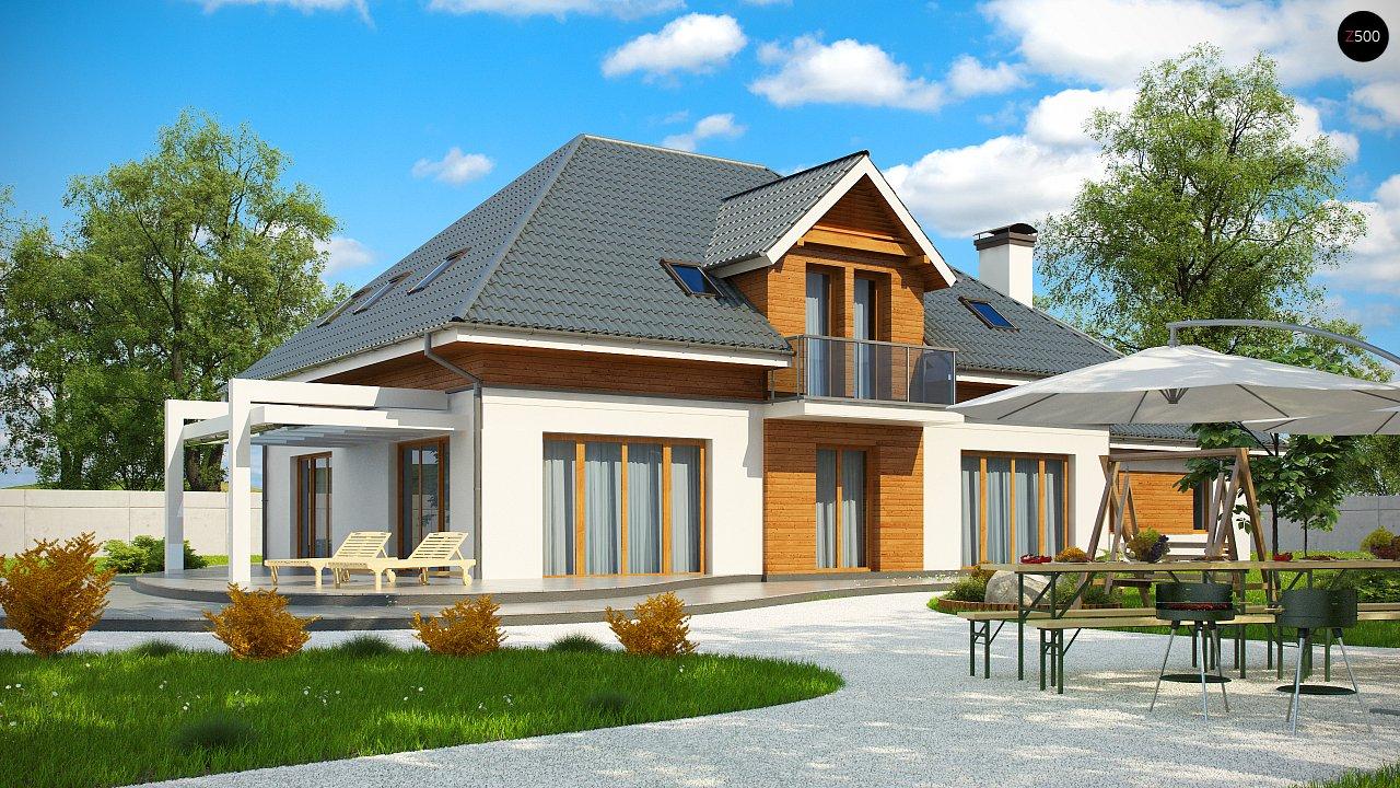 Проект дома Z50 в современной интерпретации. - фото 1